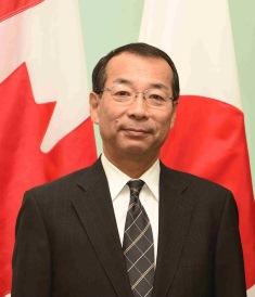 在カナダ日本国大使館: 奥田大使...
